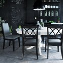 Canadel Gourmet - Custom Dining Customizable Round/Oval Table Set - Item Number: TRN04848+BAS+2xCNN09046+4xCNN09047