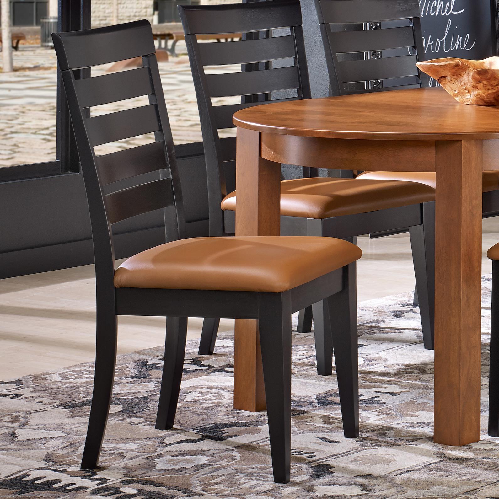 Custom Upholstered Side Chair: Custom Dining CNN09208XH63MVE