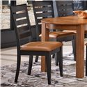 Canadel Gourmet - Custom Dining <b>Customizable</b> Upholstered Side Chair - Item Number: CHA09008XH63MVE