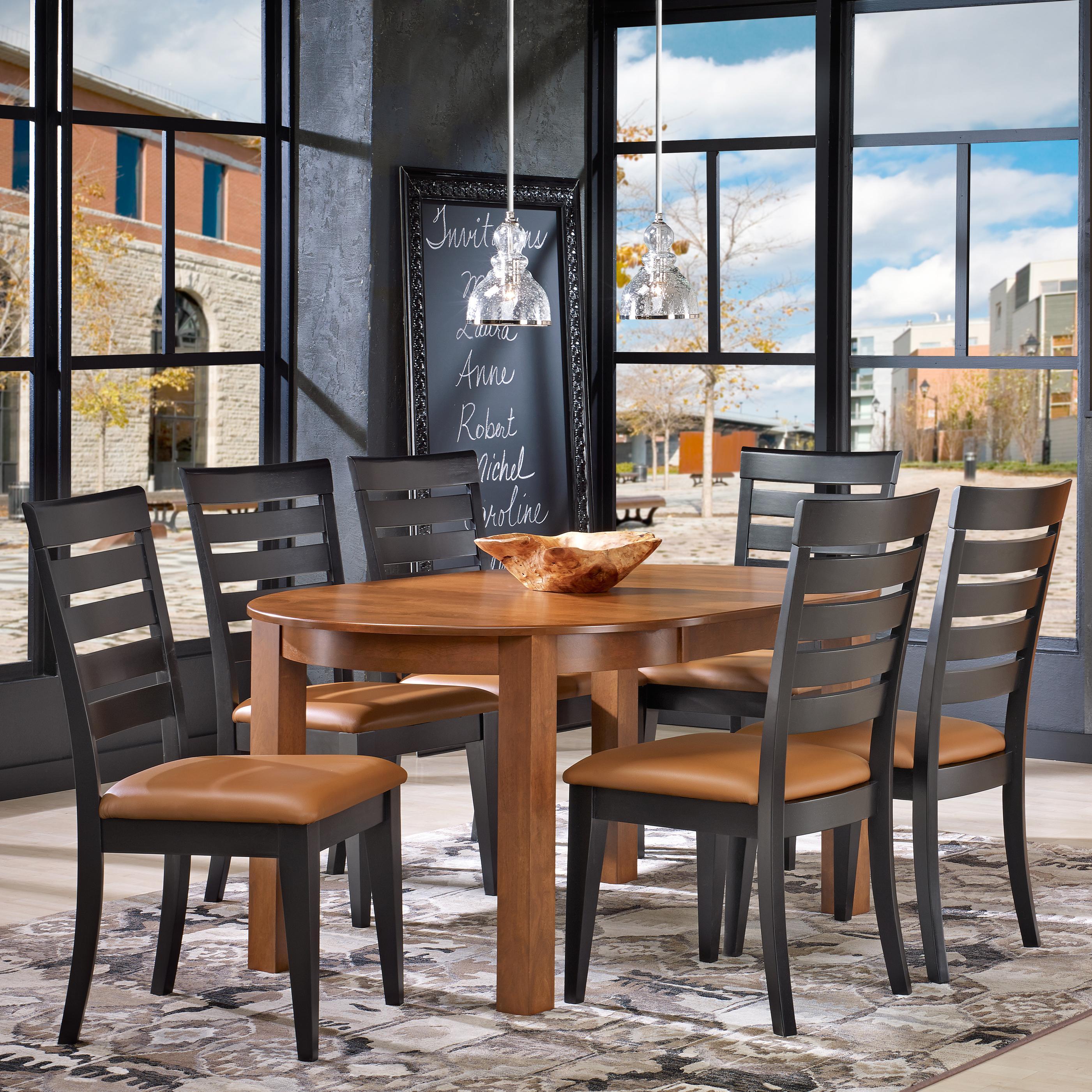 Custom Dining Customizable Round Table