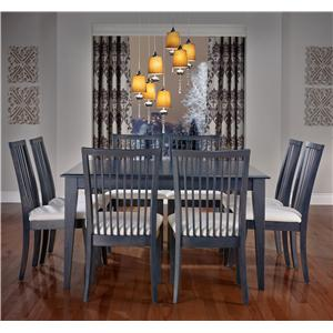 Canadel Gourmet - Custom Dining <b>Customizable</b> Square Table Set