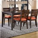 Canadel Gourmet - Custom Dining <b>Customizable</b> Rectangular Table - Item Number: TRE036483030MVEB1
