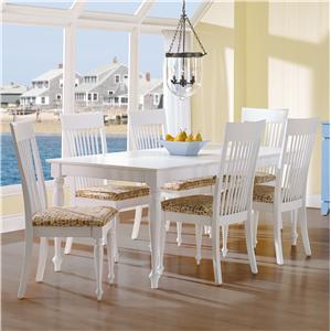 Canadel Gourmet - Custom Dining <b>Customizable</b> Rectangular Table Set