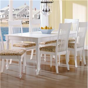 <b>Customizable</b> Rectangular Table