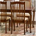Canadel Gourmet - Custom Dining <b>Customizable</b> Upholstered Side Chair - Item Number: CHA09004UK23MVB