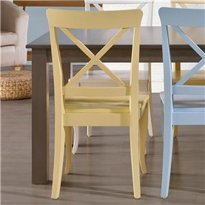 Canadel Gourmet - Custom Dining <b>Customizable</b> Side Chair
