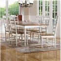 Canadel Gourmet - Custom Dining Customizable Rectangular Table Set