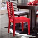 Canadel Gourmet - Custom Dining <b>Customizable</b> Side Chair - Item Number: CHA090024040MVE