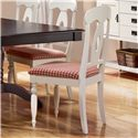 Canadel Gourmet - Custom Dining <b>Customizable</b> Upholstered Side Chair - Item Number: CHA09024UP65MVF