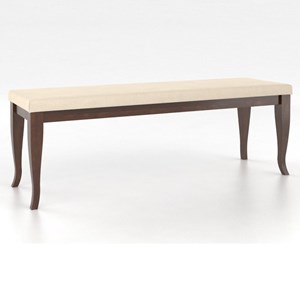 Canadel Gourmet <b>Customizable</b> Dining Bench