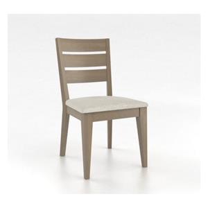 Canadel Gourmet Grey Washed Side Chair