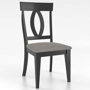 Canadel Gourmet Customizable Petite Side Chair