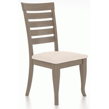 Gourmet Customizable Dining Side Chair by Canadel at Dinette Depot