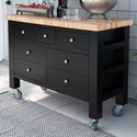 Canadel Gourmet Customizable Kitchen Island - Item Number: ISL04836NA05MB7