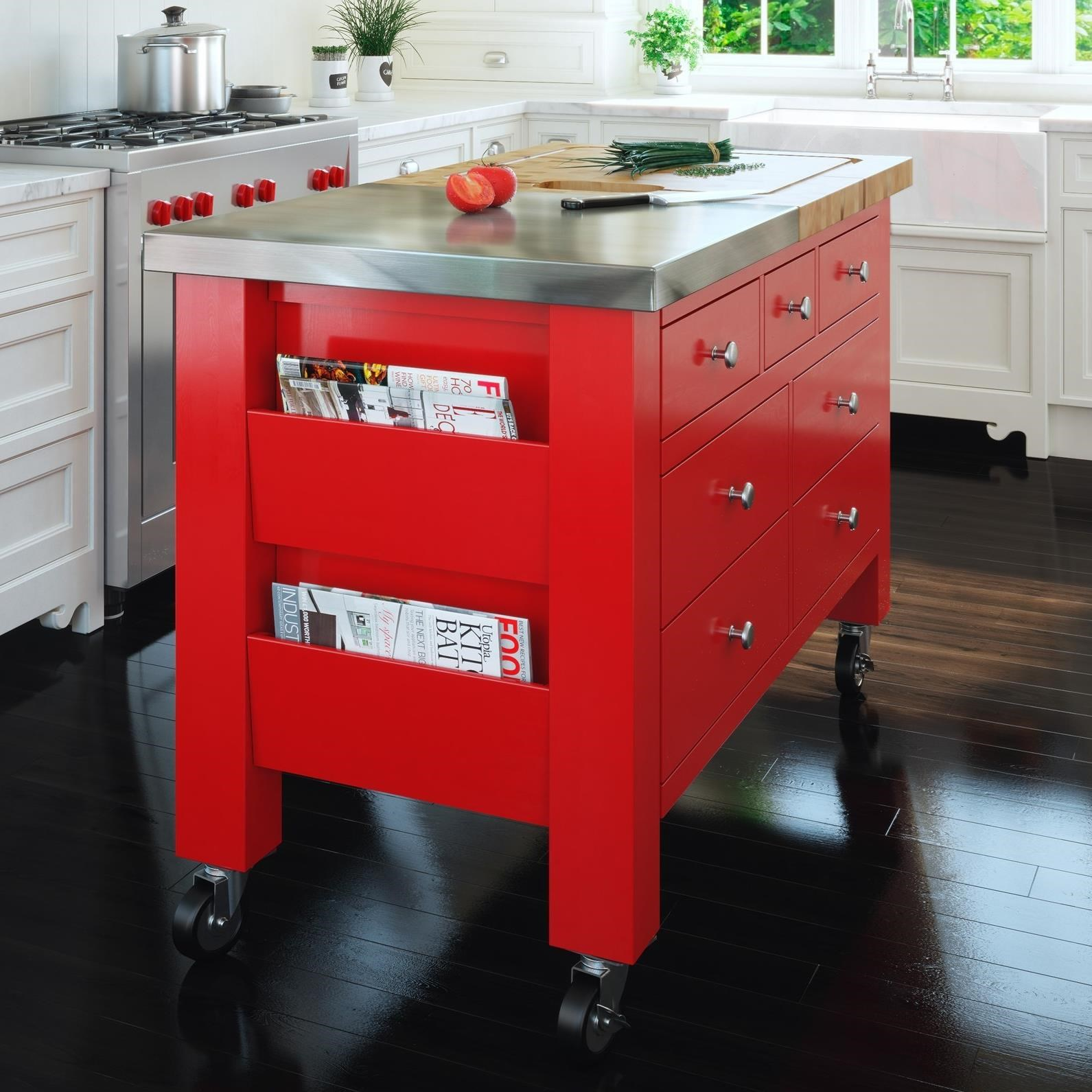 Canadel Gourmet Customizable Kitchen Island With Removable