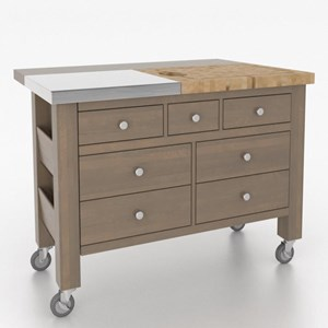 Canadel Gourmet <b>Customizable</b> Kitchen Island