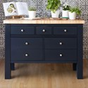 Canadel Gourmet Customizable Kitchen Island - Item Number: ISL04836NA67MB6