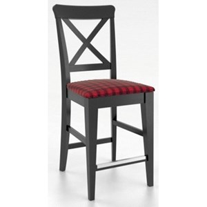 "Customizable 26"" Fixed Stool"