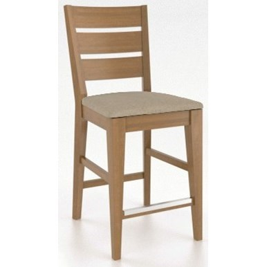 "Gourmet Customizable 26"" Fixed Stool by Canadel at Dinette Depot"