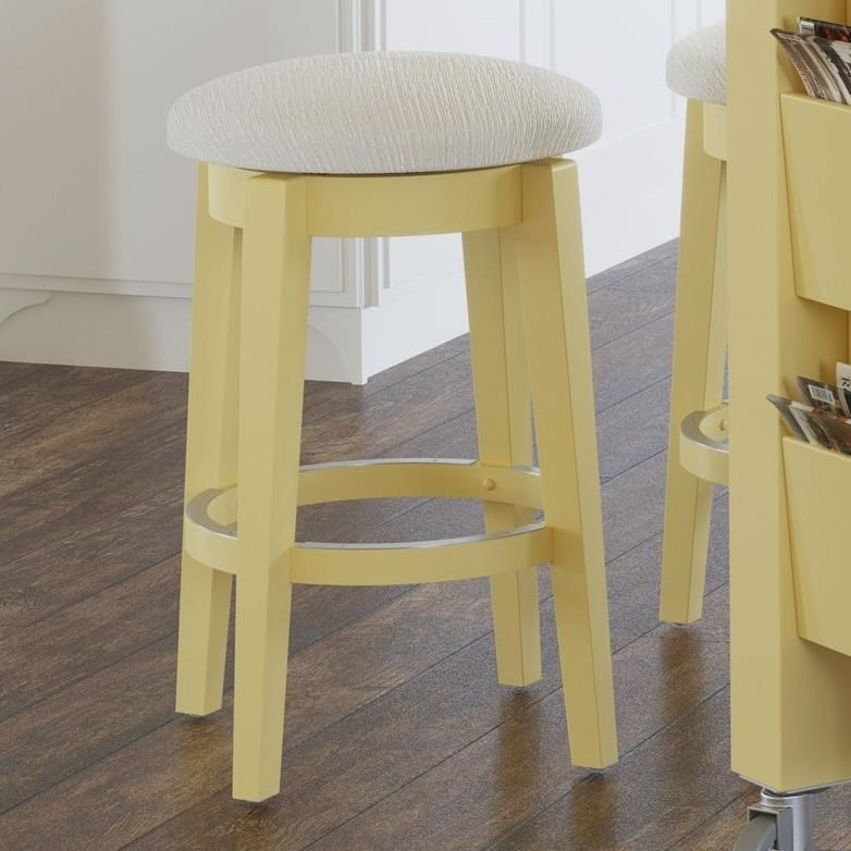 "Gourmet Customizable 26"" Swivel Stool by Canadel at Dinette Depot"