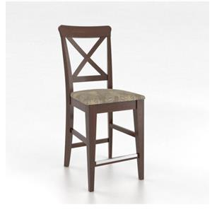 "Canadel Gourmet <b>Customizable</b> 26"" Fixed Stool"