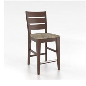 "Canadel Gourmet <b>Customizable</b> 24"" Fixed Stool"