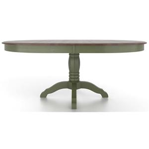 Canadel Gourmet <b>Customizable</b> Oval Table with Pedestal