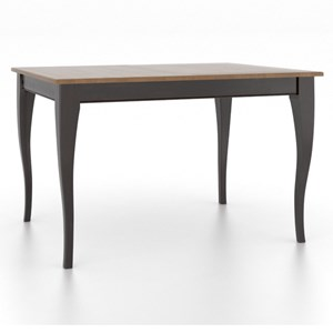 Canadel Gourmet Customizable Rectangle Table w/ Legs