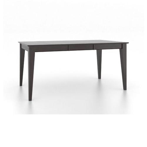 <b>Customizable</b> Rect. Table w/ Leaf