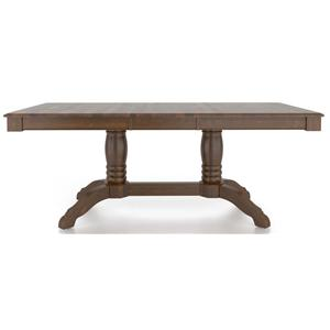 Canadel Gourmet <b>Customizable</b> Rect. Table w/ Pedestal