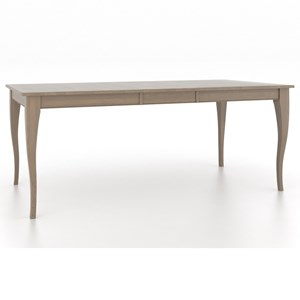 Canadel Gourmet <b>Customizable</b> Rect. Table w/ Leaf