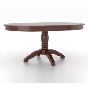 Canadel Gourmet <b>Customizable</b> Round Table w/ Pedestal