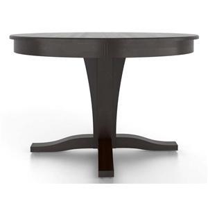 Canadel Gourmet <b>Customizable</b> Round Table w/ Pedestal