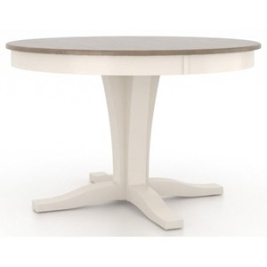 Canadel Gourmet Customizable Round Dining Table