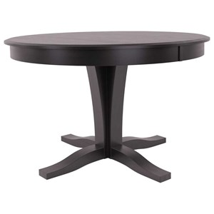 Customizable Round Table w/ Pedestal