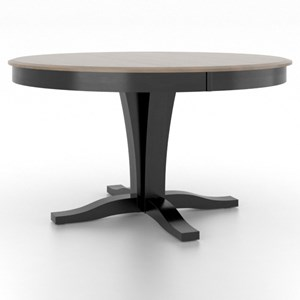 Canadel Gourmet Customizable Round Table