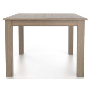 Canadel Gourmet <b>Customizable</b> Square Table with Legs