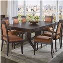 Canadel High Style - Custom Dining <b>Customizable</b> Rectangular Table - Item Number: TAB042881818MXQ6F