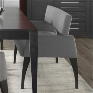 Canadel High Style - Custom Dining <b>Customizable</b> Upholstered Bench
