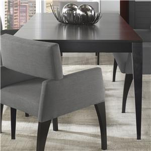 Canadel Custom Dining <b>Customizable</b> Table with Tapered Legs