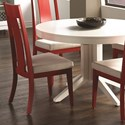 Canadel Custom Dining Customizable Side Chair - Item Number: CHA05015TB40MNA