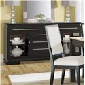 Canadel High Style - Custom Dining <b>Customizable</b> Buffet - Item Number: BUF069340134MHF