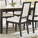 Canadel High Style - Custom Dining <b>Customizable</b> Upholstered Side Chair - Item Number: CHA05009ZB34MNA