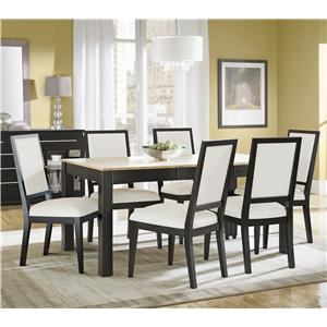 Canadel High Style - Custom Dining <b>Customizable</b> Rectangular Table Set