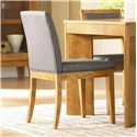 Canadel High Style - Custom Dining <b>Customizable</b> Upholstered Side Chair - Item Number: CHA05038RO04MNA