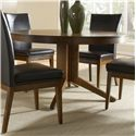 Canadel Custom Dining <b>Customizable</b> Round Table w/ Pedestal - Item Number: TAB054001414MXQ6F