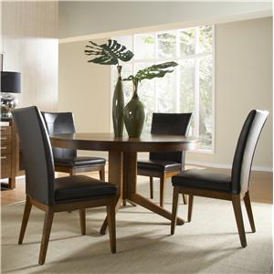 Canadel High Style - Custom Dining <b>Customizable</b> Round Table Set