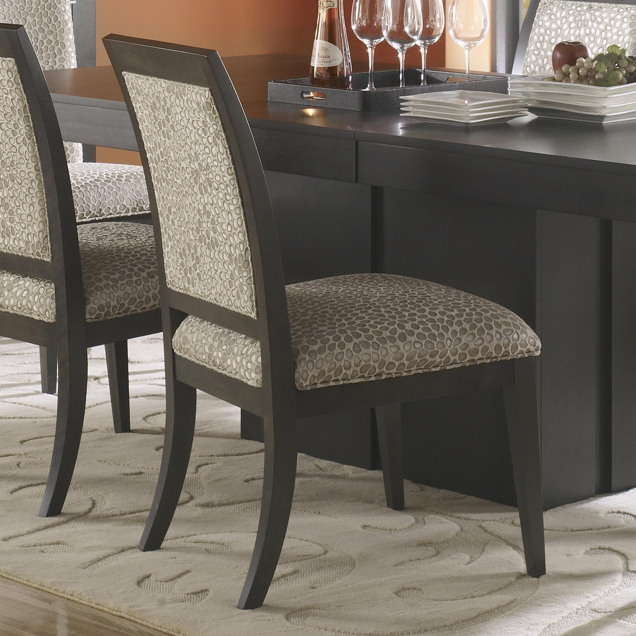 Canadel High Style - Custom Dining <b>Customizable</b> Upholstered Side Chair - Item Number: CHA05010RF59MNA