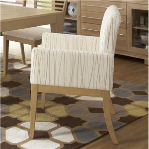 Canadel High Style - Custom Dining <b>Customizable</b> Upholstered Arm Chair