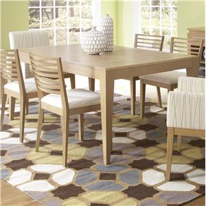 Canadel High Style - Custom Dining <b>Customizable</b> Rectangular Table